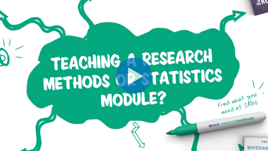 An Animation introducing new Research Methods textbooks in 2021